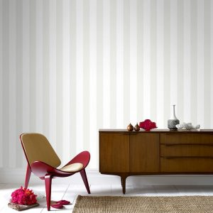 white striped wallpaper