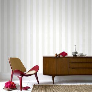 white striped wallpaper